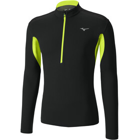 Mizuno Mujin - T-shirt manches longues running Homme - noir